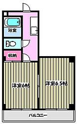 ソフィア青木場5[2階]の間取り