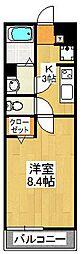 リブリ・akari[305号室]の間取り