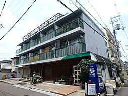 八戸ノ里グリーンハイツ[501号室]の外観