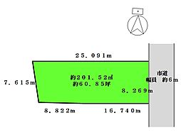区割図:建築条...