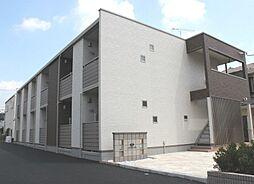 東京都あきる野市秋川3丁目の賃貸アパートの外観