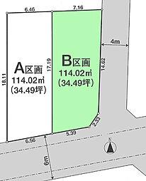B区画区画図
