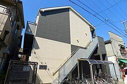 大阪府大阪市生野区中川6丁目の賃貸アパートの外観