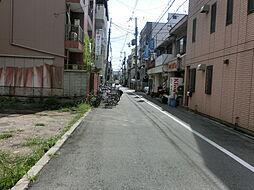 南側の前面道路