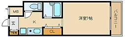 アヴァンセ21[3階]の間取り