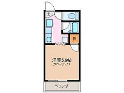 三重県志摩市阿児町神明の賃貸アパートの間取り