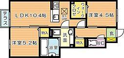 仮)D-room原町[1階]の間取り