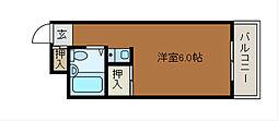 マドレーヌ原町田[4階]の間取り
