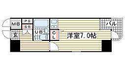 ニューブ神戸[303号室]の間取り