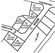 全6区画の分譲地・5号地です。