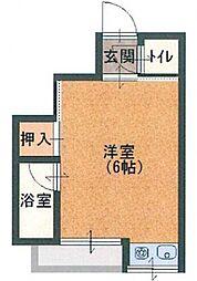 桃谷マンション[2階]の間取り