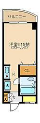 MHII[203号室]の間取り
