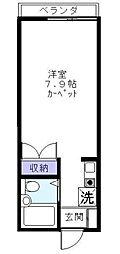 フォルムダイワ[0106号室]の間取り