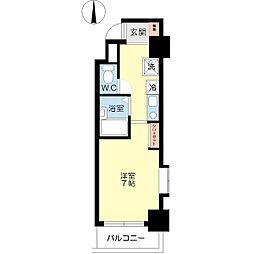 メゾンドフェンテ[5階]の間取り