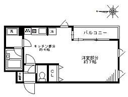 シティライブ武蔵小金井参番館[209号室]の間取り