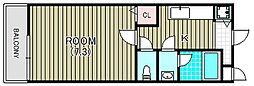 サン リゾート28[1階]の間取り