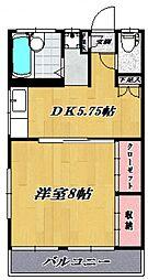 くれはマンション[302号室号室]の間取り