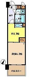 ライオンズマンション与野本町第6[308号室]の間取り