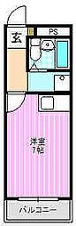 近江マンション[3階]の間取り