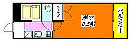 コンフォート・布施 706号室[7階]の間取り