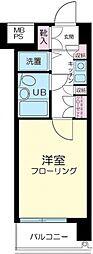新丸子ダイカンプラザシティ[5階]の間取り