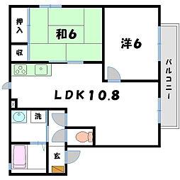 アーバンコート[1階]の間取り