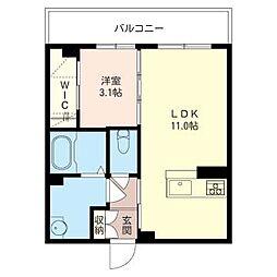 仮)五井駅西口マンション[307号室号室]の間取り