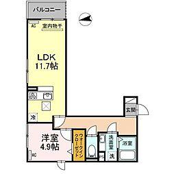 (仮)D-room刈谷市八幡町[301号室]の間取り