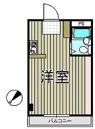 アイパレス大船[3階]の間取り