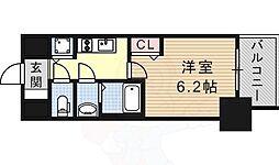 プレサンス金山コネクト 3階1Kの間取り