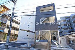 東京都足立区一ツ家3丁目の賃貸マンションの外観