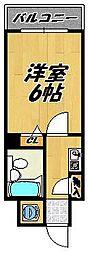 モリノビル[5階]の間取り