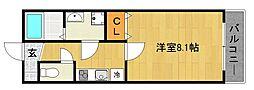 仮称)上京区北玄蕃町共同住宅[101号室]の間取り
