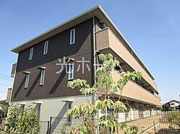 東京都清瀬市中里5丁目の賃貸アパートの外観