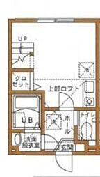 ハーベリーMC[2階]の間取り
