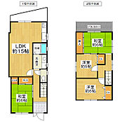 - 4LDK/93.39平米 - 前面道路は南側に面しており日当たり良好。全居室の収納スペースや床下収納など収納豊富です。