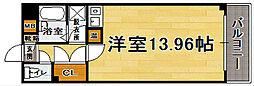 大名柴田ビル[5階]の間取り