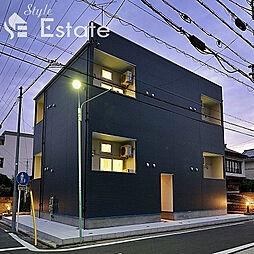 愛知県名古屋市中村区十王町の賃貸アパートの外観