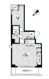 ライオンズプラザ新横浜[7階]の間取り