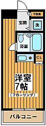 東京都世田谷区赤堤3丁目の賃貸マンションの間取り