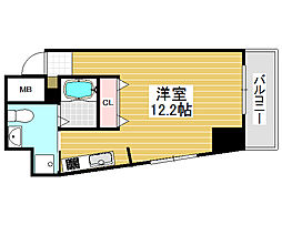 プライムス堺駅前フェニックス通り[5階]の間取り