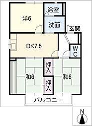 サンライツ伊藤[2階]の間取り