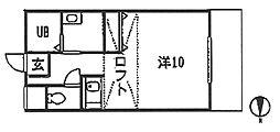 第2ガーネットハウスB[1階]の間取り