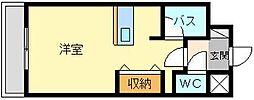 北口幹線ビル[802号室]の間取り