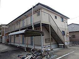 愛知県常滑市大和町6丁目の賃貸アパートの外観