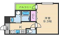 フジパレス田辺III番館[3階]の間取り