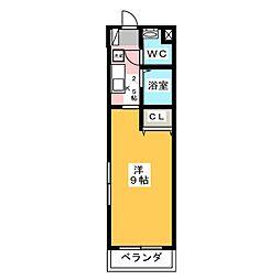 Hepta house[1階]の間取り