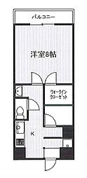 第7高橋ビル bt[209kk号室]の間取り