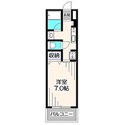 メゾン武蔵野[3階]の間取り