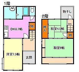 [一戸建] 兵庫県神戸市須磨区須磨寺町1丁目 の賃貸【/】の間取り